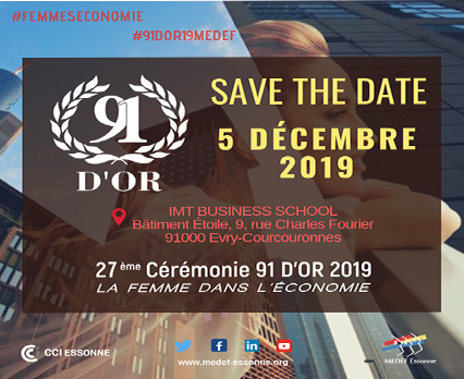 Save the date 91 d'or